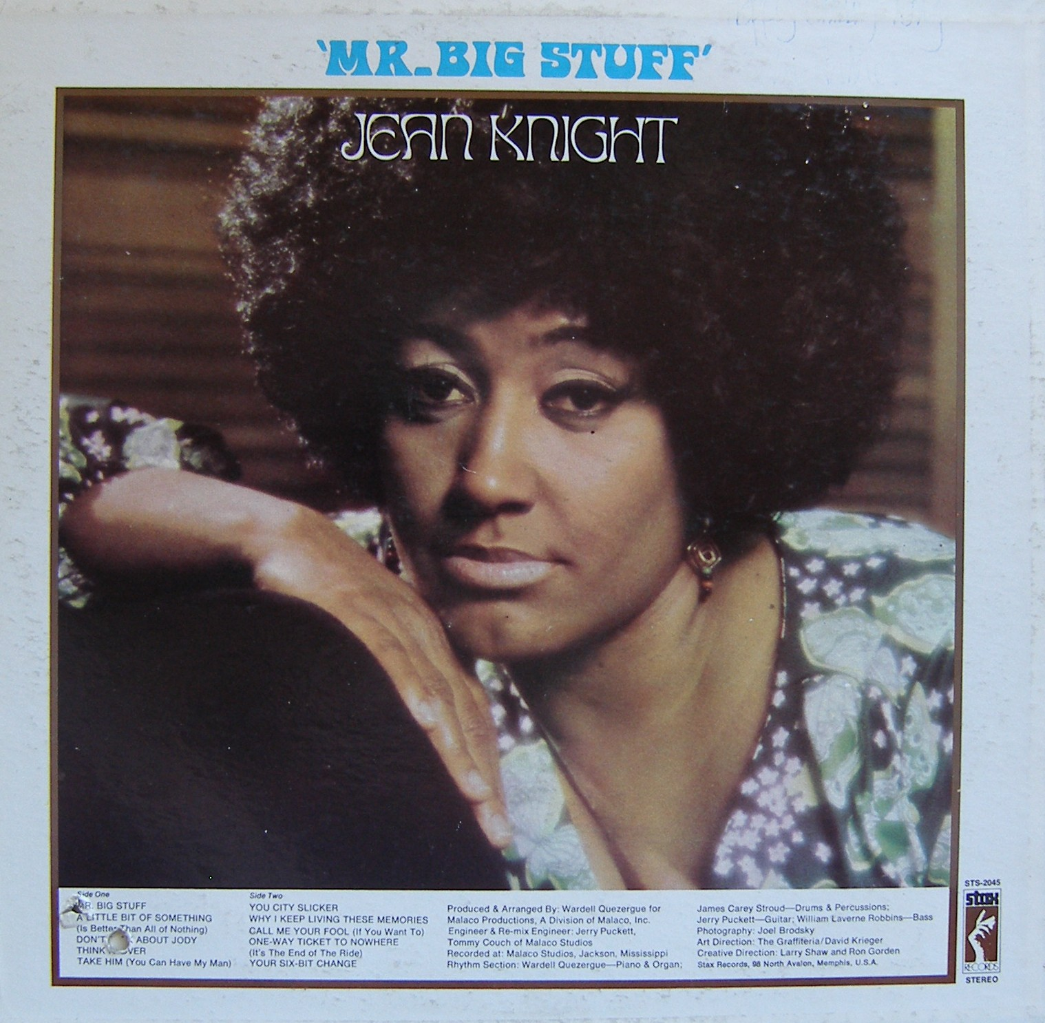 Jean Knight Mr Big Stuff Why I Keep Living These Memories