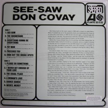 Don Covay - Back To The Roots