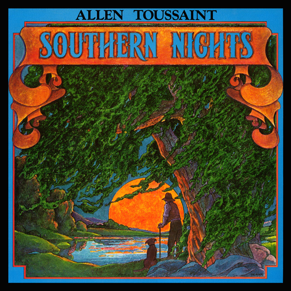 allen toussaint southern nights  Front