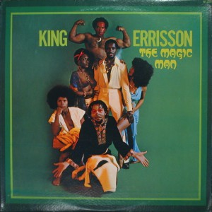king errisson - the magic man front
