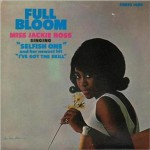jackie ross - full bloom front lp