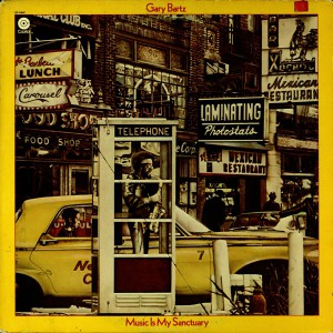 Gary Bartz Music Is My Sanctuary front