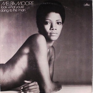 Melba Moore Look What You're Doing to the Mam front