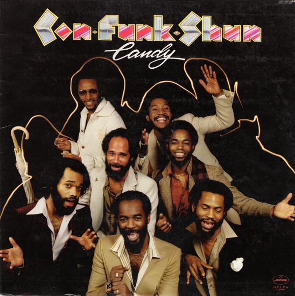 con funk shun - 1979 - candy front
