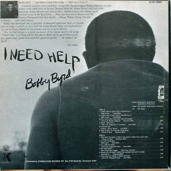 Bobby Byrd Back From The Dead The Way To Get Down