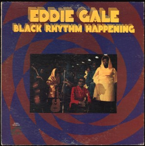 Eddie Gale Black Rhythm Happening front cover
