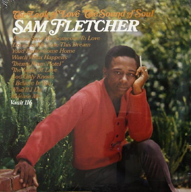 Sam Fletcher - 1967 -  The Look of Love - The Sound of Soul front