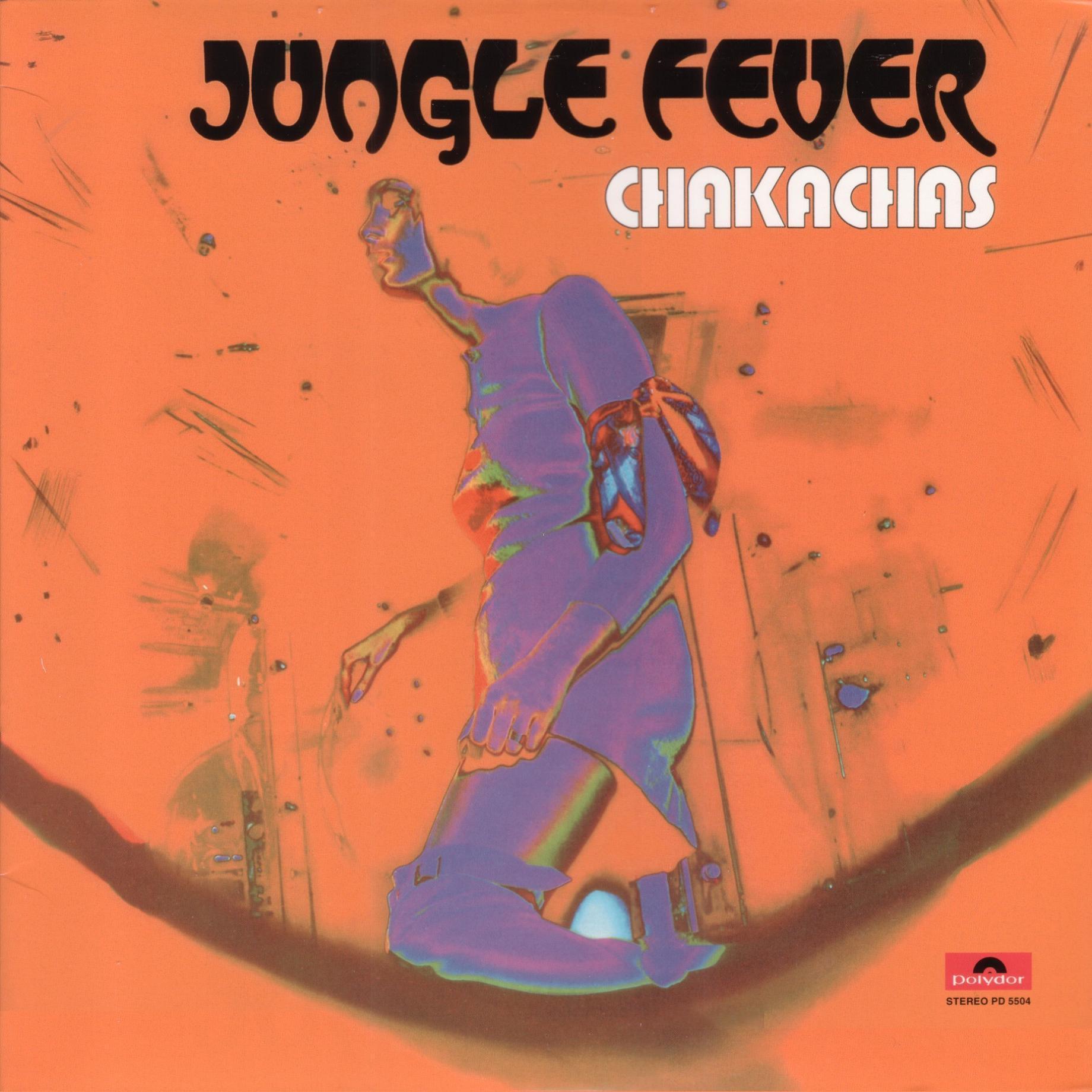 chakachas jungle fever lp front