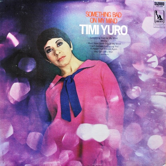 timi yuro - something bad on my mind front cover