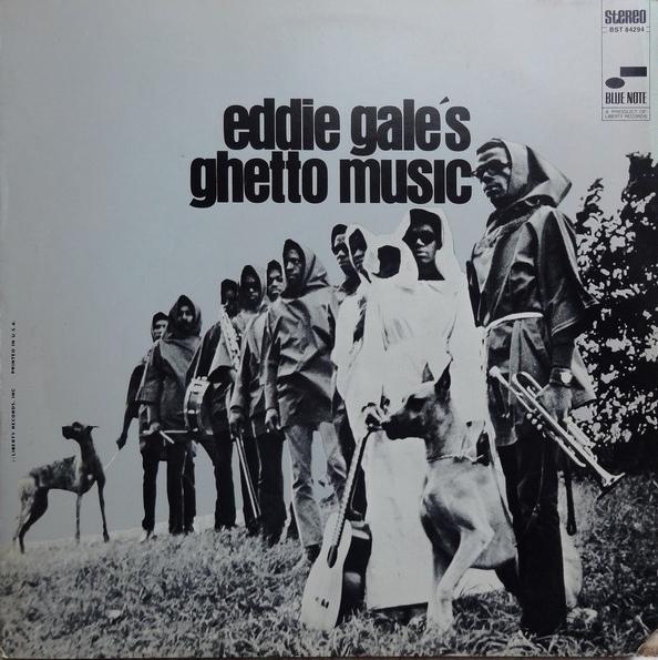 Eddie Gale - Eddie Gale's Ghetto Music front