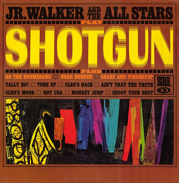 Jr. Walker and the All Stars Shotgun front