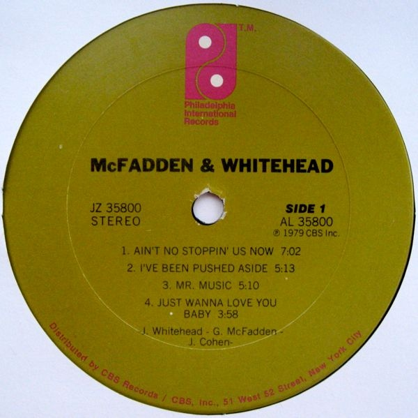 mcfadden and whitehead ive been pushed aside in relationship