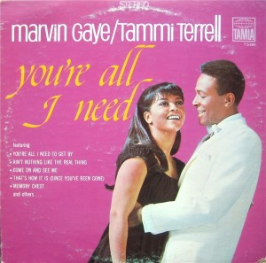 Marvin Gaye & Tammi Terrell You're All I Need front