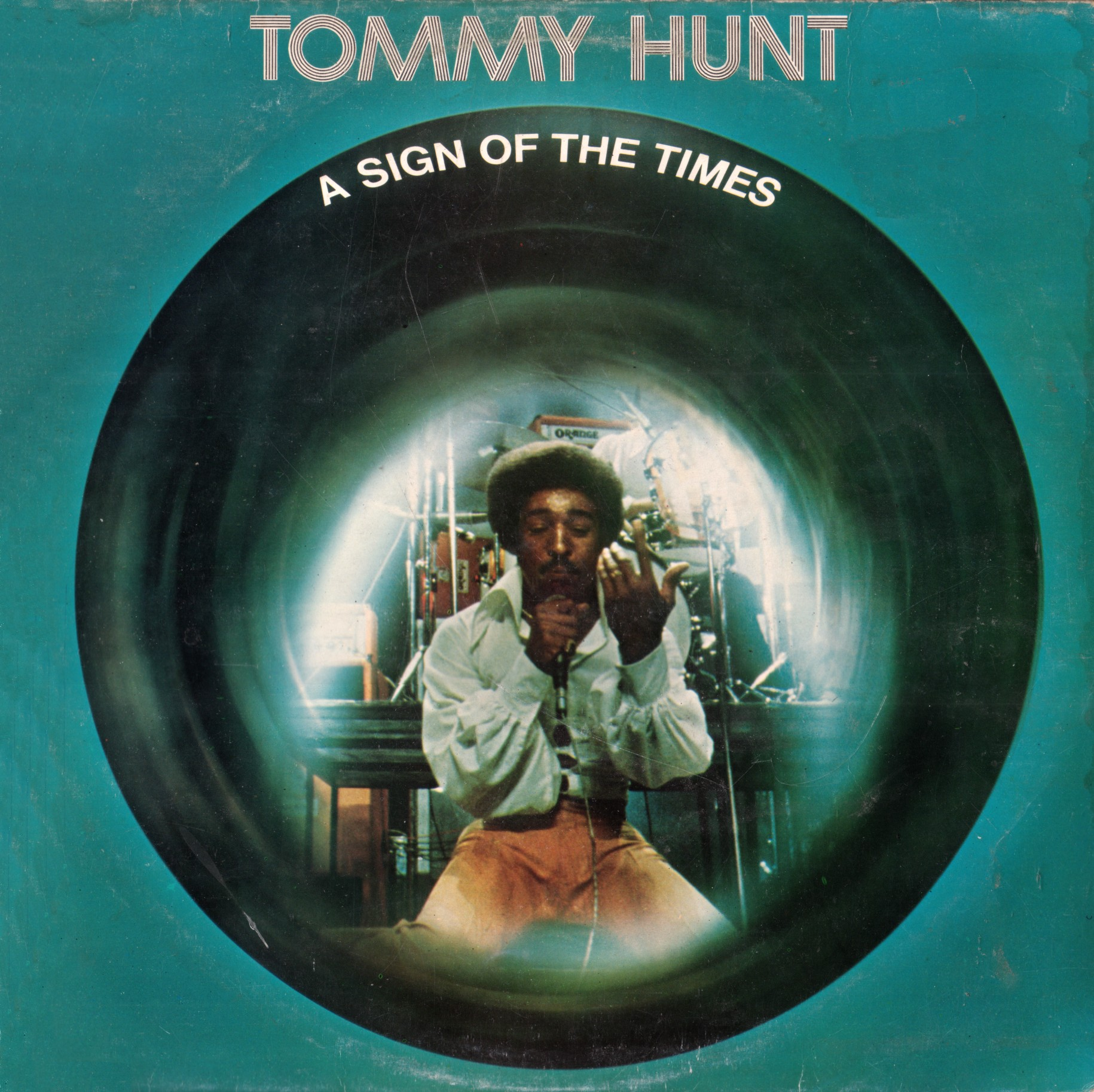 Tommy Hunt - A Sign Of the Times - front