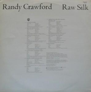 Randy Crawford Raw Silk back