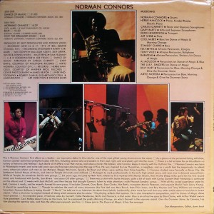 norman connors dance of magic back