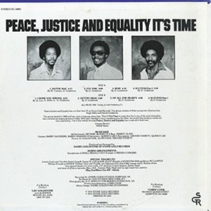 PEACE, JUSTICE AND EQUALITY It's Time STONE GOLD LP
