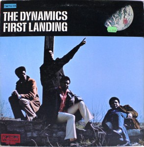 The Dynamics First Landing front cover