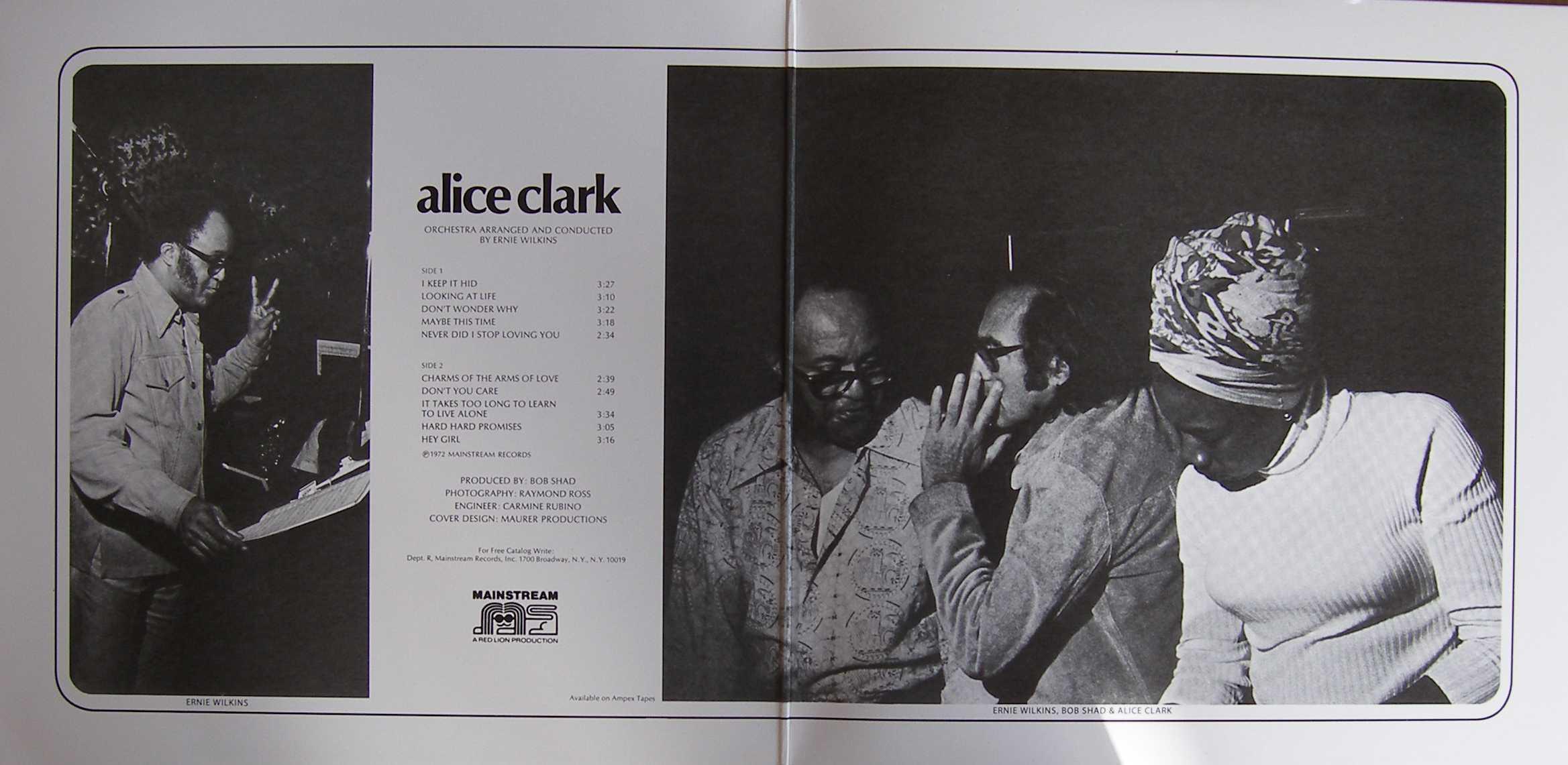 Alice Clark -1972 - Alice Clark Free Download | Funk My Soul