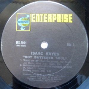 isaac hayes - 1969 - hot buttered soul label 1