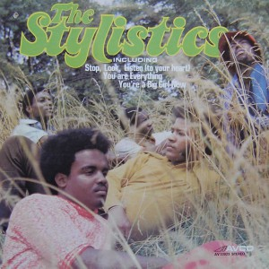 The-Stylistics - 1971- st - front cover