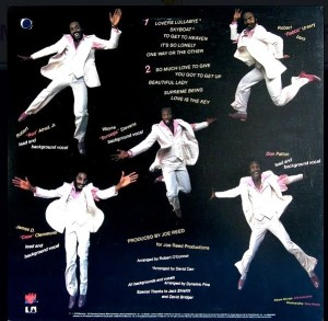 Dynamic Five Love Is The Key Back Cover