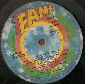 Candi Staton - 1972 - Canti Staton label a