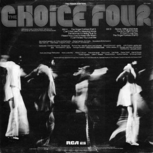 choice four - the finger pointers - back