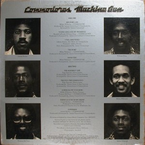 commodores machine gun back