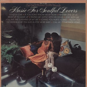 Cecil Holmes Soulful Sounds – 1973 – Music For Soulful Lovers
