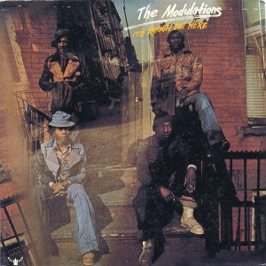The Modulations It's Rough Out Here LP front