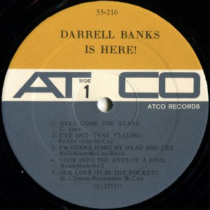 Darrell Banks Is Here label1