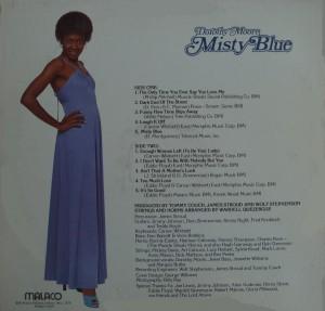 Dorothy Moore Misty Blue back