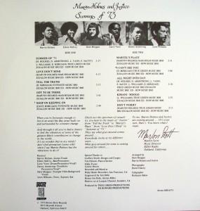 marvin holmes & justice - summer of 73 (back
