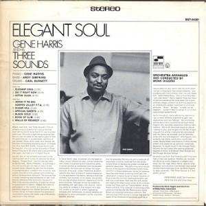 Gene Harris & The Three Sounds Elegant Soul B