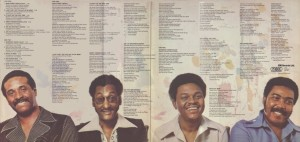 The Four Tops Main Street People gat