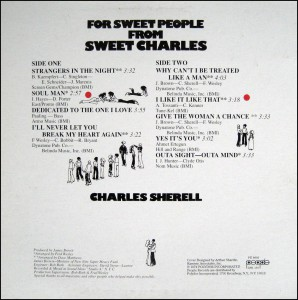 sweet charles for sweet people back