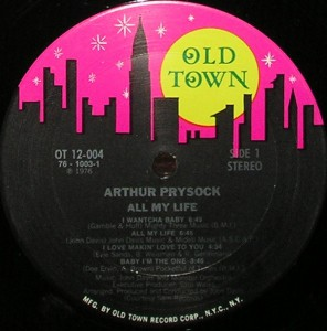 Arthur Prysock - 1976 - All My Life label 1