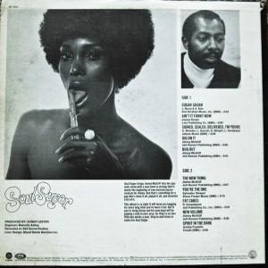 Jimmy McGriff - 1971 - Soul Sugar back