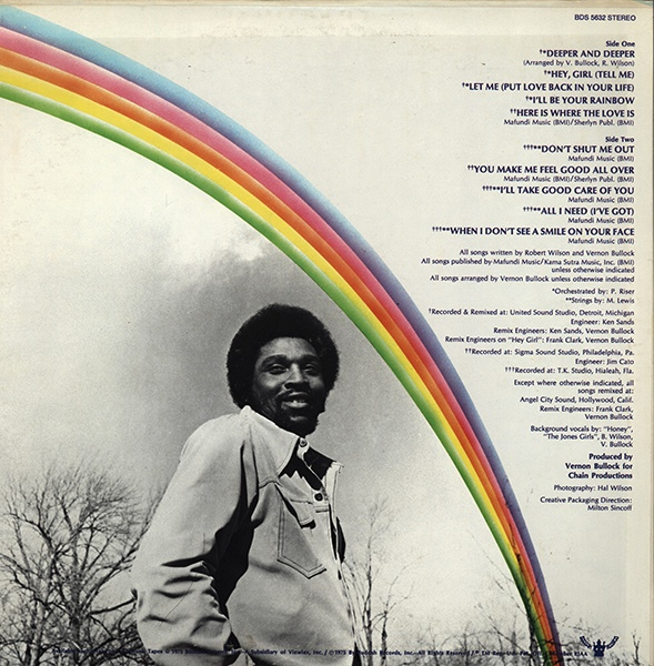 Bobby Wilson 1975 I Ll Be Your Rainbow Free Download