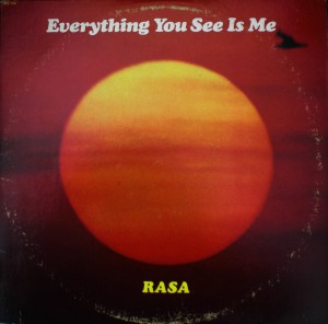 Rasa - Everything You See Is Me front