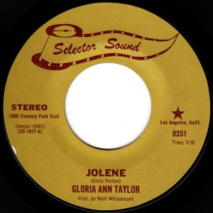 gloria ann taylor jolene Cover