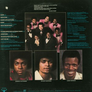 Black Ivory 1976 back cover