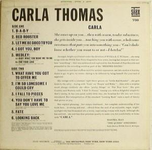 Carla Thomas - 1966 - carla back