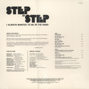 Step By Step – 1976 – I Always Wanted To Be In The Band
