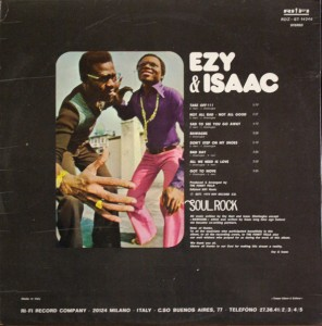 Ezy & Isaac back cover