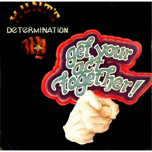 hunt's determination band - 1978- get your act together front
