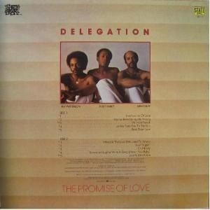 Delegation - 1977 - The Promise Of Love back