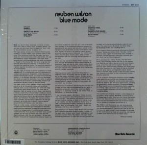 Reuben Wilson Blue Mode back