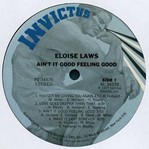 Eloise Laws - Ain't It Good Feeling Good side 1